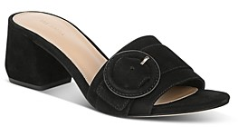 Via Spiga Women's Flor Block-Heel Slide Sandals
