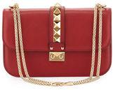 Valentino Lock Rockstud-Trim Flap Bag