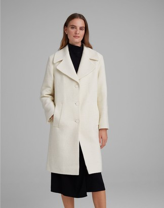Club Monaco Quilted Boucle Coat