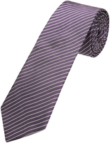Oxford Silk Tie Pinstripe