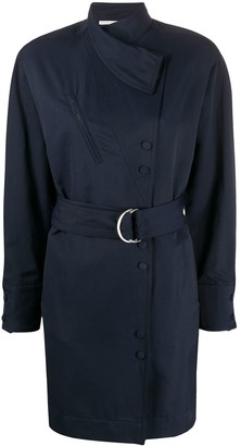 Stella McCartney Wrap-Front Belted Dress