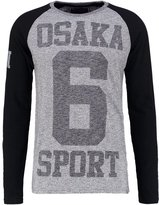Superdry Long Sleeved Top Dark Grey