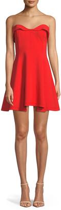 Cinq à Sept Ani Strapless Sweetheart Mini Dress