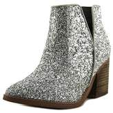 Not Rated Firefly Women Round Toe Synthetic Silver Ankle Boot.