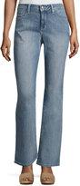 NYDJ Barbara Boot-Cut Faded Jeans, Blue