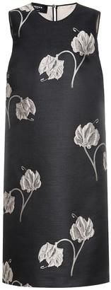 Rochas Pomello floral jacquard dress