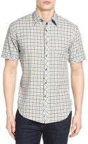 James Campbell Men's Fugit Check Sport Shirt
