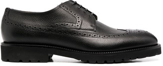 HUGO BOSS Pebbled Leather Brogues