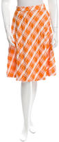 Moschino Cheap & Chic Moschino Cheap and Chic Flared Plaid Skirt