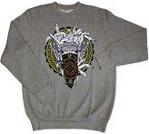 Crooks and Castles Crooks & Castles Horsebit Medusa Sweatshirt Athletic Heather