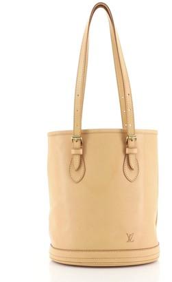 Louis Vuitton Marais Bucket Bag Nomade Leather