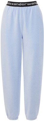 Alexander Wang Stretch Corduroy Sweatpants W/ Logo