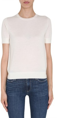 Tory Burch Iberia Short-Sleeve Pullover