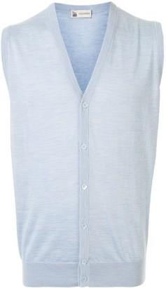 Colombo Knitted V-Neck Gilet