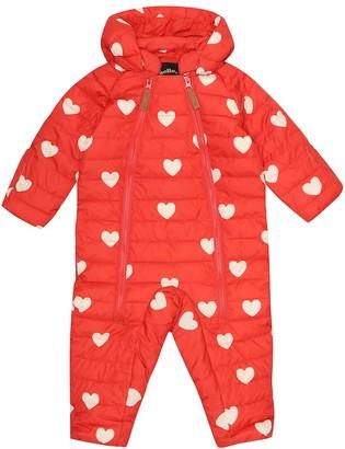 Mini Rodini Baby Hearts snowsuit