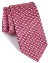 Salvatore Ferragamo Men's Geometric Silk Tie