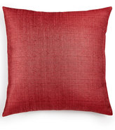 """Last Act! Hallmart Collectibles Blush Collection Textured 18"""" Square Decorative Pillow Bedding"""