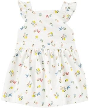 Carter's Baby Girl Floral Linen Dress