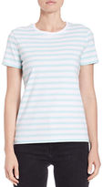 Lord & Taylor Petite Striped Roundneck Tee