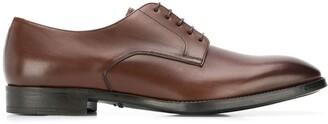 Giorgio Armani burnished-toe Derby shoes