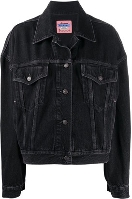 Acne Studios Boxy-Fit Denim Jacket