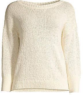 Elie Tahari Women's Monroe Hemp-Blend Sweater
