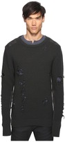 adidas Originals by Kanye West YEEZY SEASON 1 - Destroyed Wool Sweater Men's Sweater