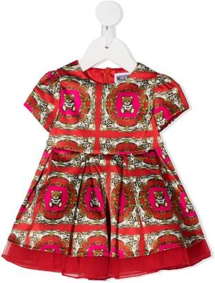 MOSCHINO BAMBINO Pleated Skirt Dress