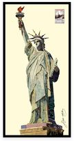 Alex Lady Liberty Collage Framed Wall Art By Zeng
