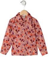 Little Marc Jacobs Girls' Floral Button-Up Top w/ Tags