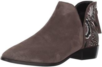 Kenneth Cole Reaction Women's Loop Here We Go Ankle Bootie with Embellished Heel