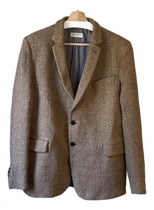 Dries Van Noten Camel Wool Jackets