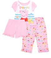 Komar Kids Peppa Pig Pink Pajama Set - Toddler