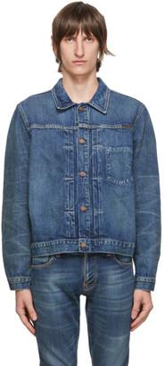 Nudie Jeans Blue Vinny Denim Jacket