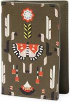 Furla Women's Graphic Leather Passport Holder