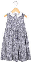 Oscar de la Renta Girls' Printed Sleeveless Dress