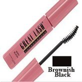 Maybelline Great Lash Curved Mascara, Brownish Black by Maybeline New York