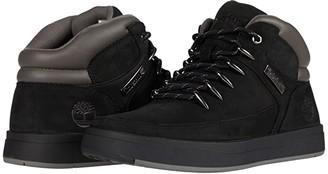Timberland Davis Square Mid Hiker (Black Nubuck) Men's Shoes
