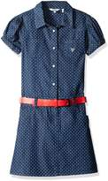 GUESS Big Girls' Print Cotton Denim Dress