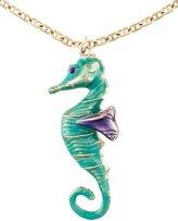 Salvatore Ferragamo Seahorse Pendant Necklace