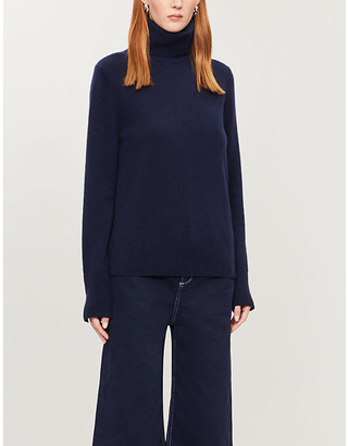 Benetton Turtleneck virgin wool and cashmere-blend jumper