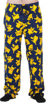 Pokemon Pokmon Pikachu Knit Pajama Pants