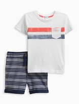 Splendid Little Boy Pocket Tee Short Set