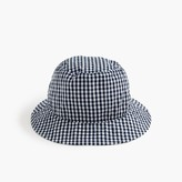 J.Crew Bucket hat in gingham