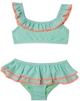 Hula Star Girl's 'Sailor Stripe' Two-Piece Swimsuit