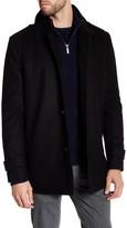 Kenneth Cole New York Wool Blend Car Coat