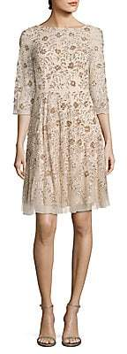 Aidan Mattox Women's Embellished Cocktail Dress