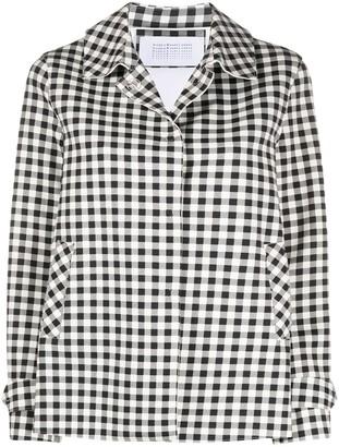 Harris Wharf London Gingham Check Jacket