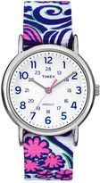 Timex Women's Weekender Floral Reversible Watch - TW2P90200JT