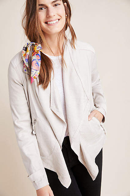 Anthropologie Gulliver Draped Jacket